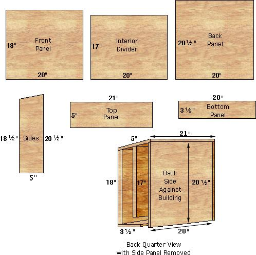 Plans building bat house find house plans for How to make a bat house