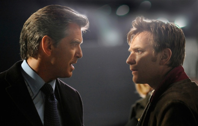 Pierce Brosnan and Ewan McGregor in The Ghost Writer.