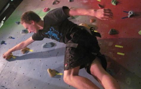Rock Climbers at Community High School