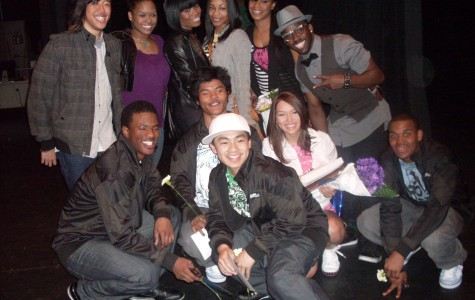 Samantha Goven and her dance crew