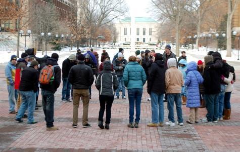 """Circle of Unity"" Draws Crowd on MLK Day"