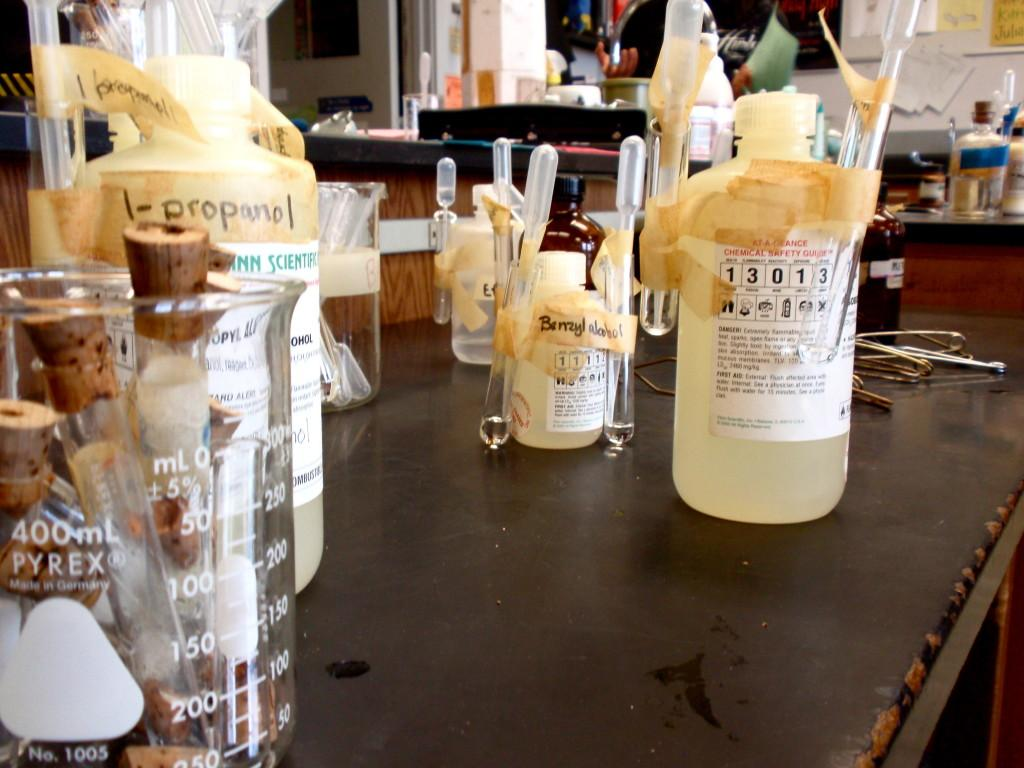 Students+mixed+chemicals+to+make+compounds+that+smelled+like+fresh+fruit.