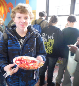 Students and Staff Celebrate Pi Day 2011 at CHS