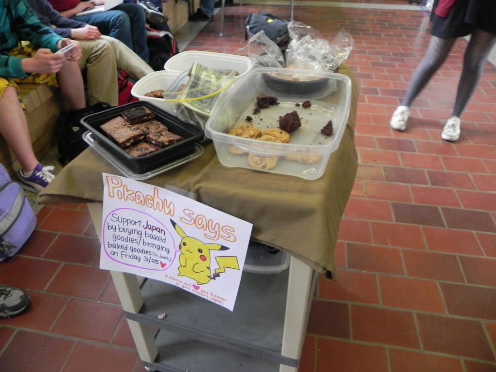 Students+at+CHS+held+a+bake+sale+to+raise+money+and+awareness+for+the+crisis+in+Japan.
