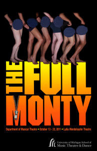 """University of Michigan Musical Theatre Department puts on """"The Full Monty"""" at the Lydia Mendelssohn Theater"""