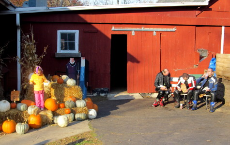 The atmosphere of the Dexter Cider Mill attracts a large variety of people.
