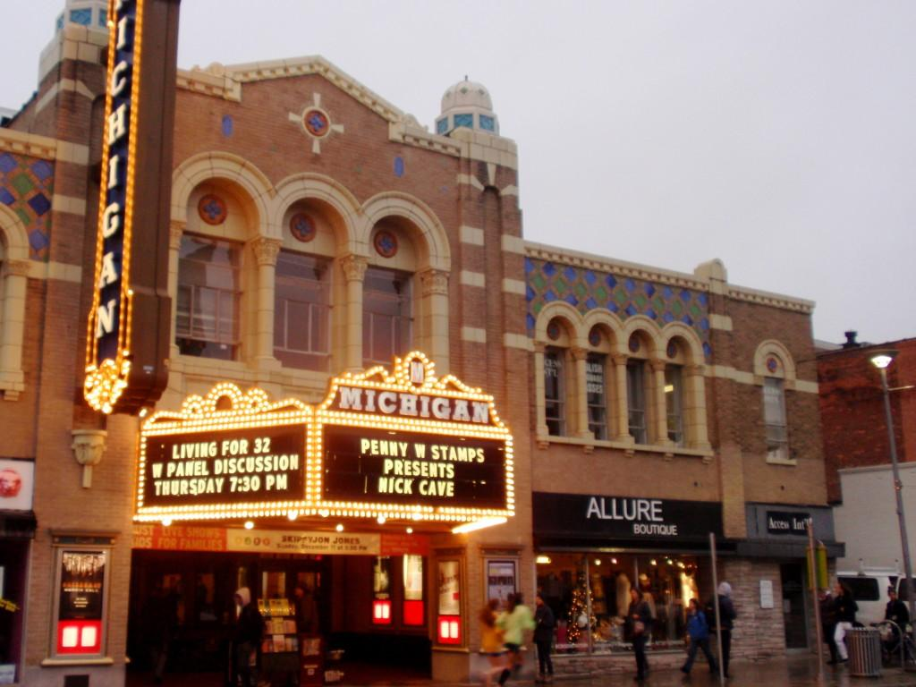 The Penny W. Stamps Speakers Series takes place at the Michigan Theater every Thursday at 5:10 pm.