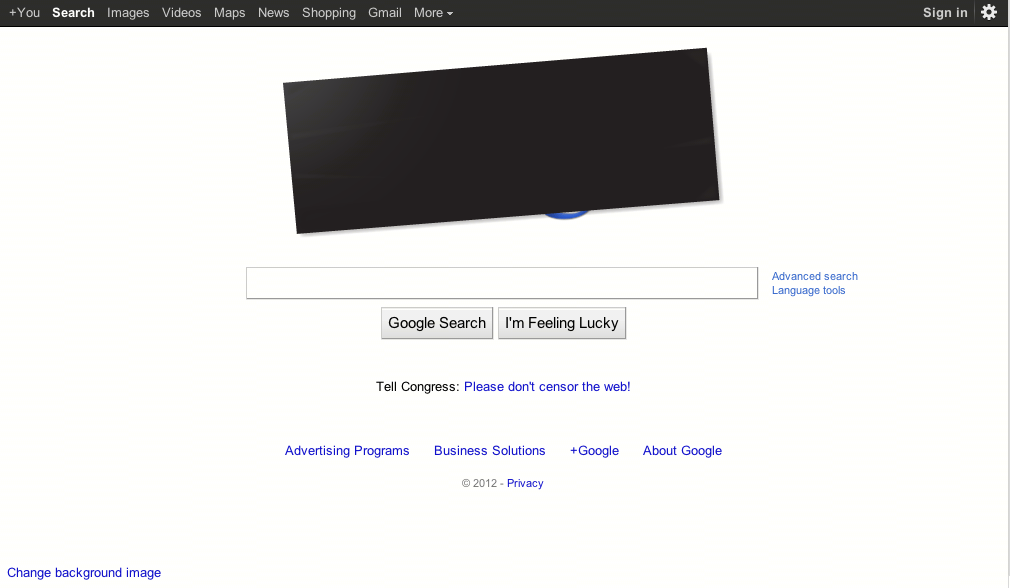 Google+did+not+black+out+its+entire+website+but+they+changed+their+homepage+in+protest.