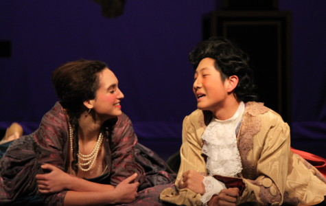 Lior Appel-Kraut and Mingquan Ma perform as Constanze and Mozart in Skyline's