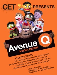 In Defense of Avenue Q: Student Edition