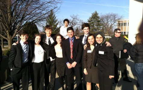 "Community High Mock Trial ""A"" Team Advances to 2012 State Competition"