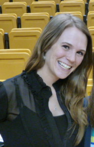 Casey Jo Magee as an assistant coach for Western Michigan University