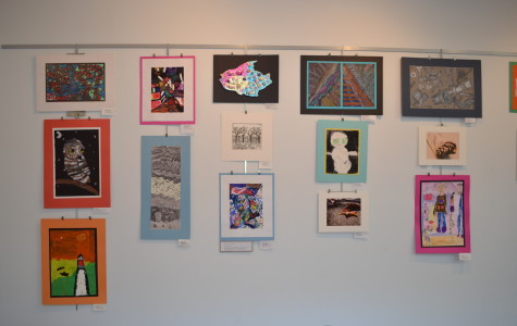 Community High Students Shine at Art Exhibits