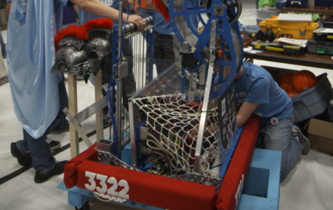 Student engineers prepare for robotics season