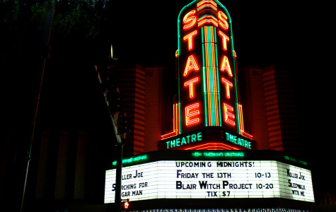 Upcoming Midnight Movies on the State Theater Marquee