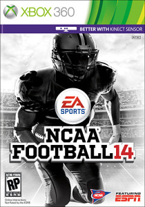 NCAA Football 14 Cover