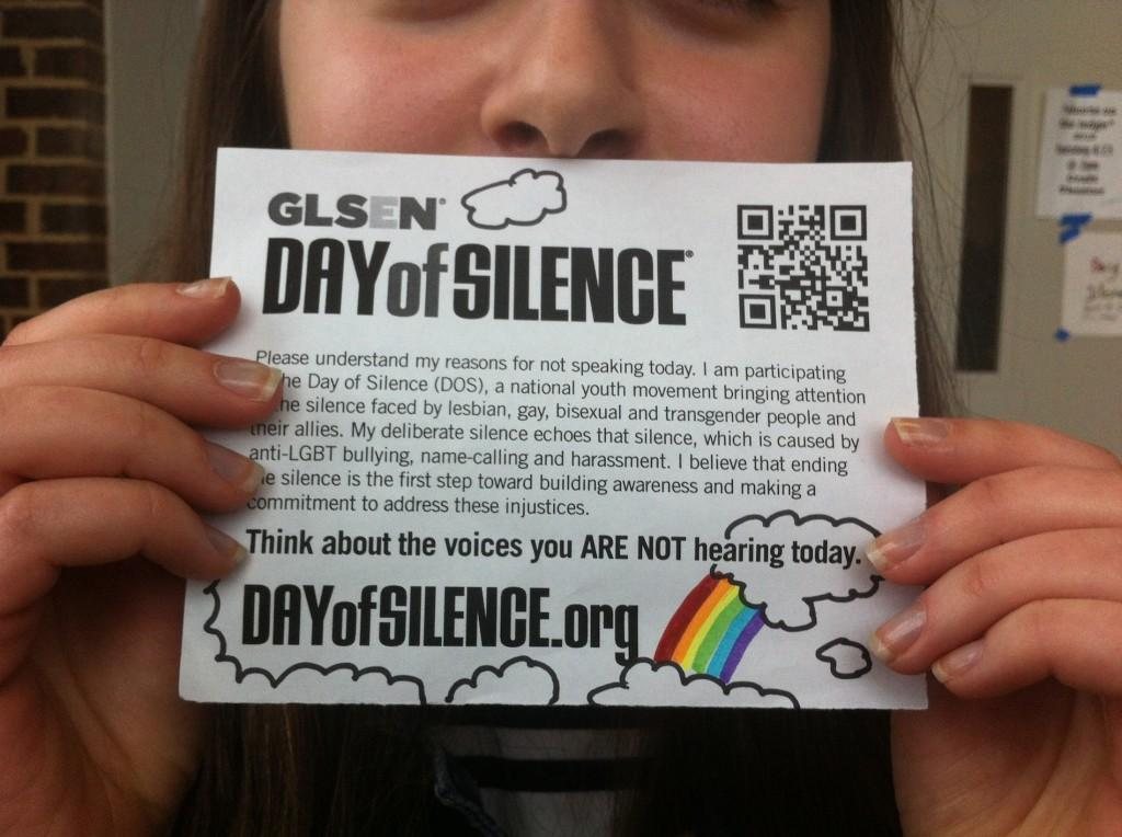 Quiet+Activism%3A+Day+of+Silence+At+Community