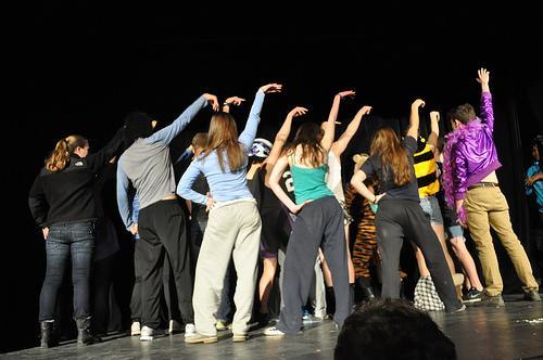 The Stapleton Forum dances.