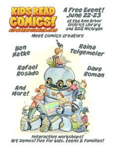 Comics Convention Comes to AADL