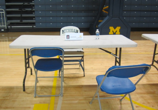 Michigan Basketball Media Day