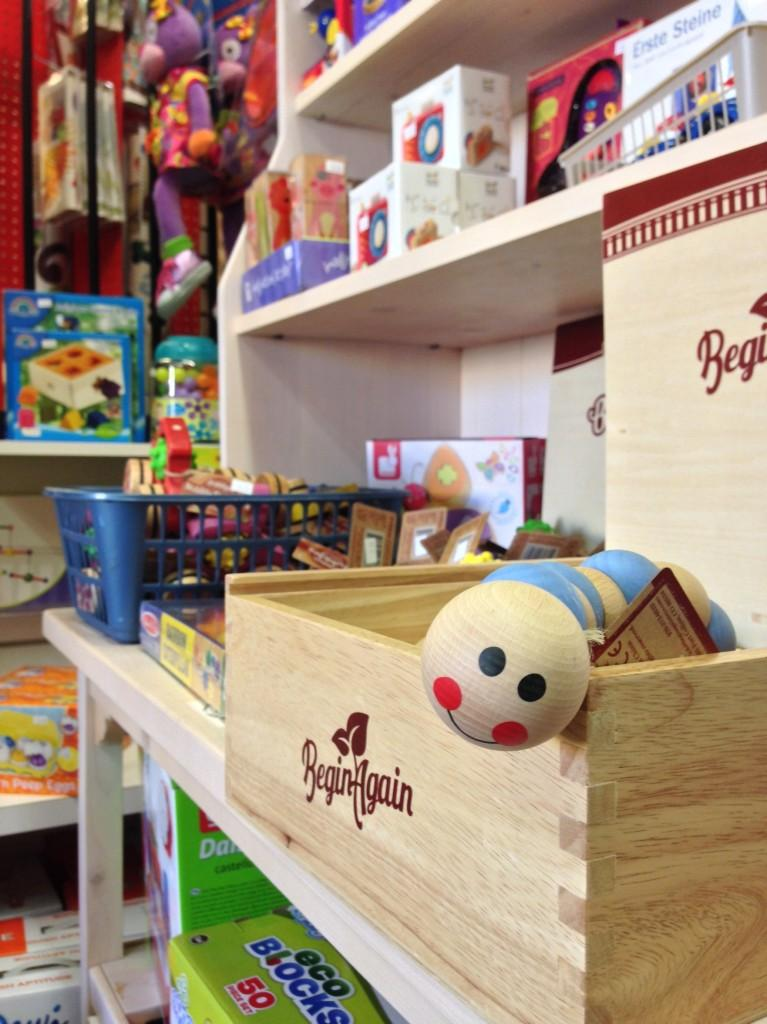 Mudpuddles Toy Store gives a new experience for children.