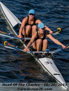 Skyline Rowers Compete at the Head Of The Charles Regatta