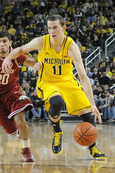 After sustaining an ankle injury in the Puerto-Rico tip-off Nik Stauskas struggles to return to full strength.