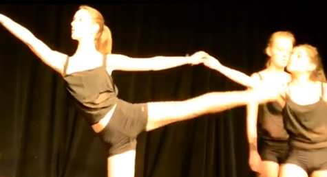 Dance Body showcases their talent before the slam begins.