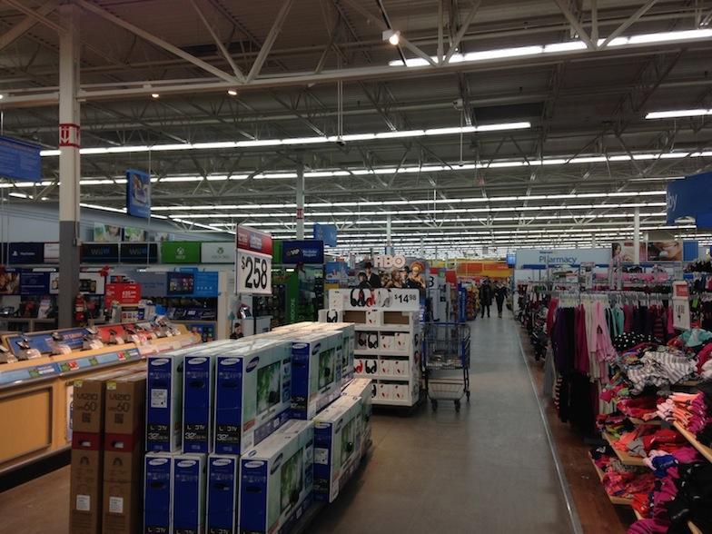 A Walmart in Saline, Mich.