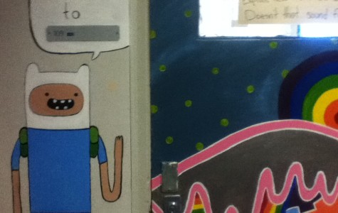 Behind the Adventure Time Mural