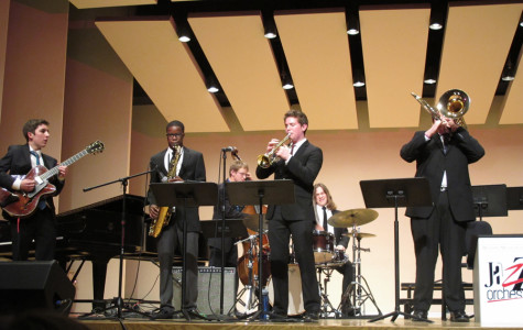 A CHS jazz band performs at the 2013 WMU jazz festival.