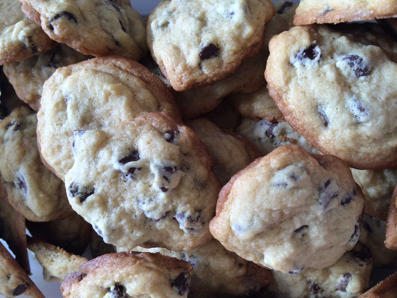 Tracy Anderson made a batch of her Grandma's famous Chocolate Chip Cookies for some melancholy juniors taking the MME.