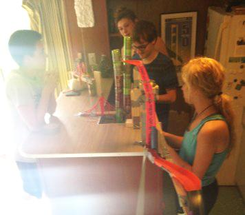 An Adventure in FOS 4: The Rube Goldberg Machine