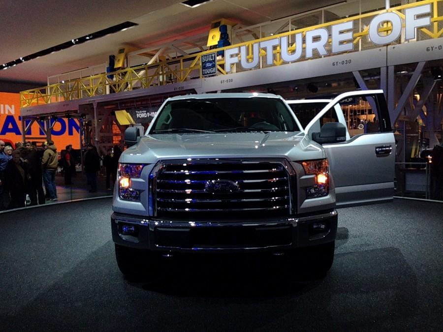 Aluminum 2015 Ford F-150