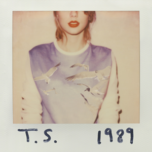 Taylor Swift's cover art for her most recent album, 1989.