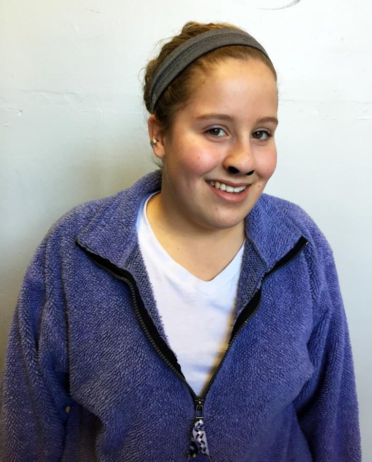 Sophomore Hannah Davis.