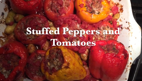 Mom's Meals: Simona Goldin, Stuffed Peppers and Tomatoes