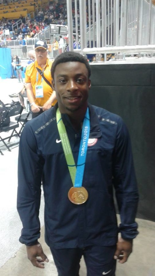 Marvin Kimble, Pan American Champion -Pommel Horse