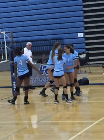Skyline Eagles Varsity Volleyball Defeats Lincoln Railsplitters 3-0