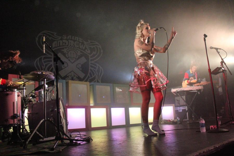 Melanie Martinez sings at Saint Andrew's Hall in Detroit on her