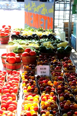 The Ann Arbor Farmers Market: Old and New Faces Bring Items to Sell