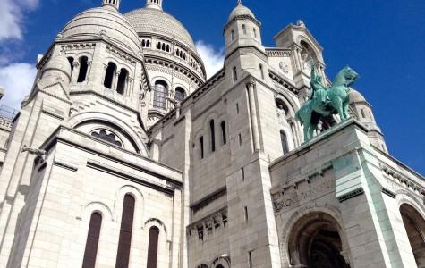 Sacré Coeur in Paris, France.