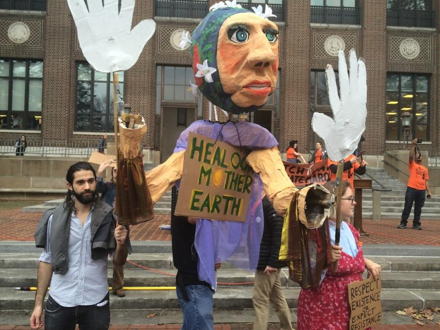 Hundreds Gather for Michigan Climate March