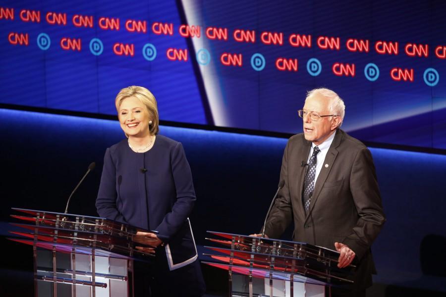 CNN Democratic Debate at the University of Michigan in Flint, Michigan. Photo Courtesay of CNN