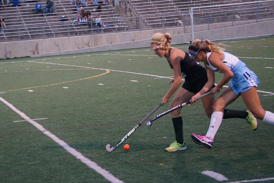 Rematch Between the Skyline and Huron Field Hockey Teams