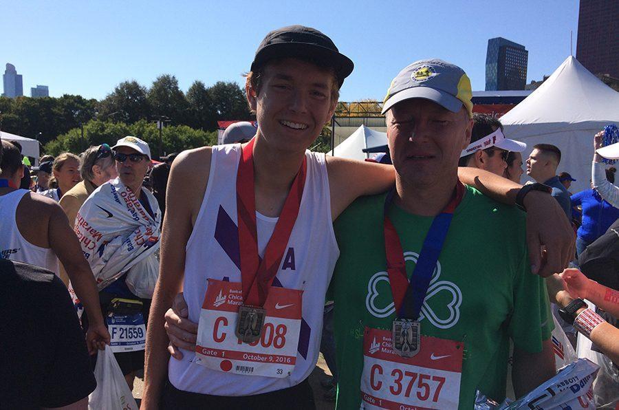 Senior+Alex+Hughes+Run+the+Chicago+Marathon+at+age+18