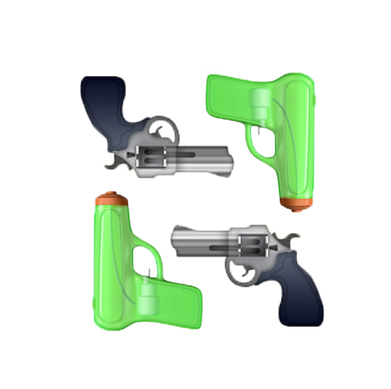 Apple Changes the Gun Emoji