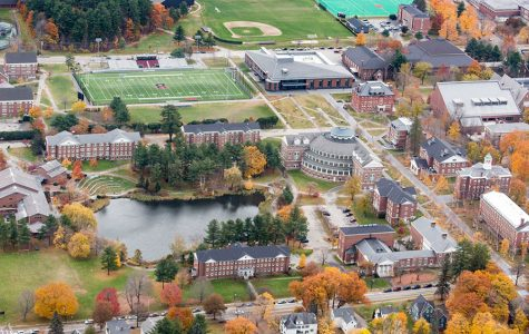 Overview of Bates College Campus.