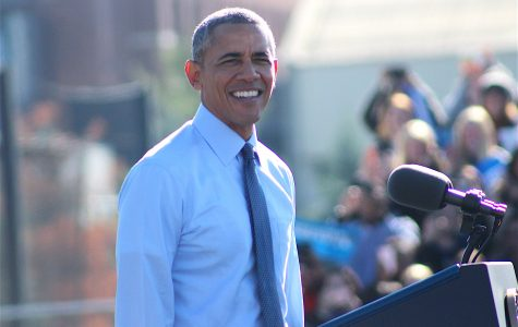 President Obama Campaigns in Ann Arbor Hours Before Election Day