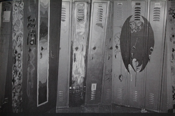Painted Lockers In The Old Halls of Community High